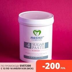 Шугаринг Сахарная Паста для депиляции, плотная 4, 800 гр. ANESTET лучше, чем воск и крем, удаление волос