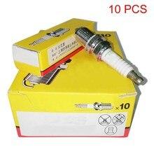 1/10Pcs C7HSA Spark Plug Motorcycle Ignition Sparking Plugs for 50cc 125cc ATV Pit Dirt Go Kart Quad Car Bike Honda Yamaha