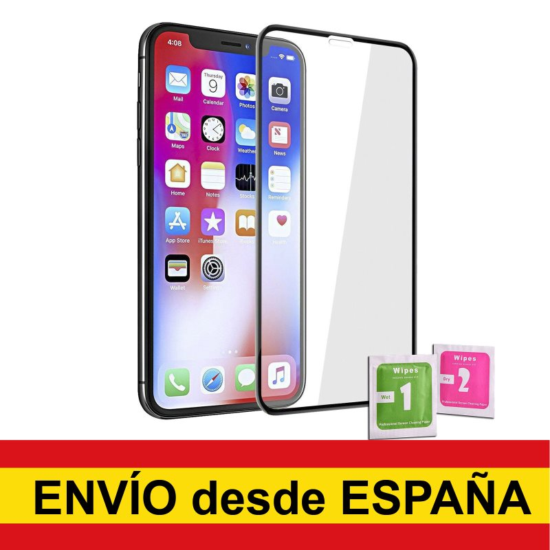 Tempered Glass Protector To IPHONE XR/11 BLACK Full Front