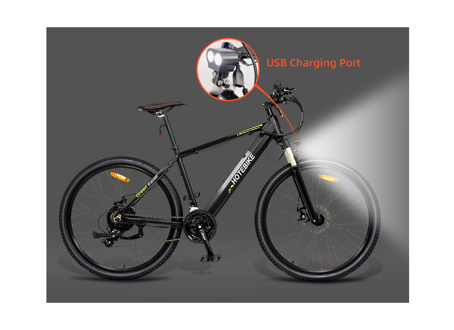"27.5"" 48V 500W electric mountain bike 35-40 km/h speed fastest electric bike A6AH26 e bike for sale"