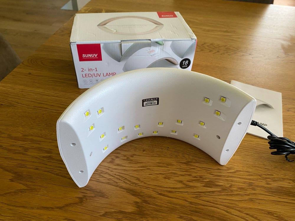 SUNUV SUN9c plus  36W UV  lamp nail gel machine curing harden gel polish nail dryer for home manicure reviews №2 24447