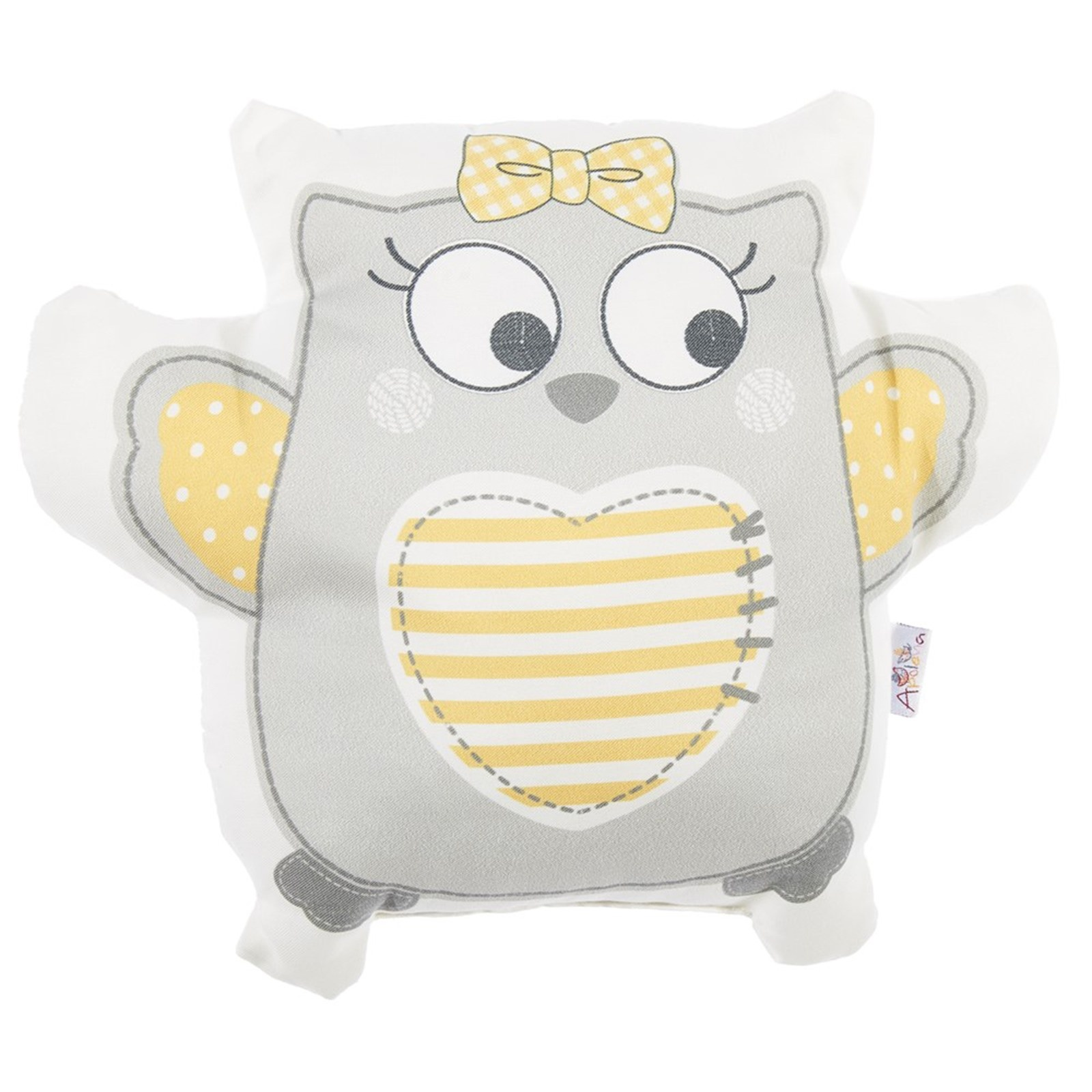 Ebebek Apolena Owl Toy Baby Pillow 33x28x10 Cm
