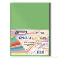 Paper color double sided tinted A4 100 sheets (color green)