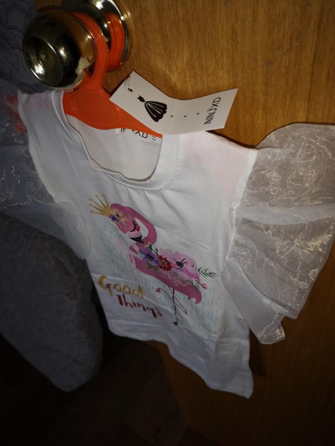 New Brand Girls Animal Print T shirt Unisex Unicornio Tee Clothes Children Cartoon Top For 3 4 5 6 7 8 Years Kids Birthday Wear photo review
