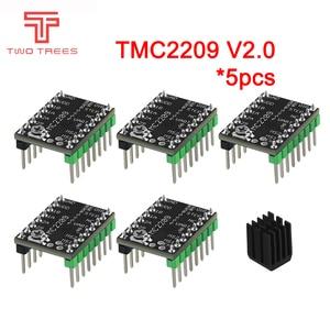 5pcs MKS TMC2209 V2.0 Stepper Motor Driver StepStick 3d printer parts 2.5A UART ultra silent For SKR V1.3 SGen Gen L Robin Nano