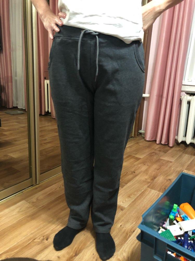 Plus Size Winter Warm Pants For Women Korean Sweatpants Women'S Trousers Female Black Soft Fleece Cotton Pants photo review