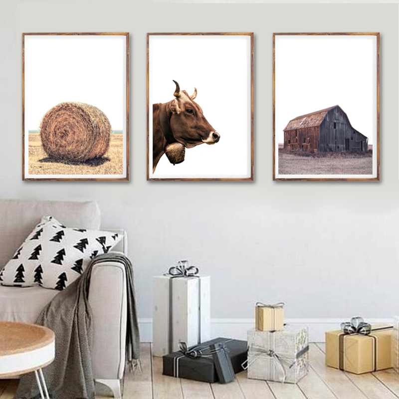 Christmas Canvas Painting Wall Pictures Home Wall Decor
