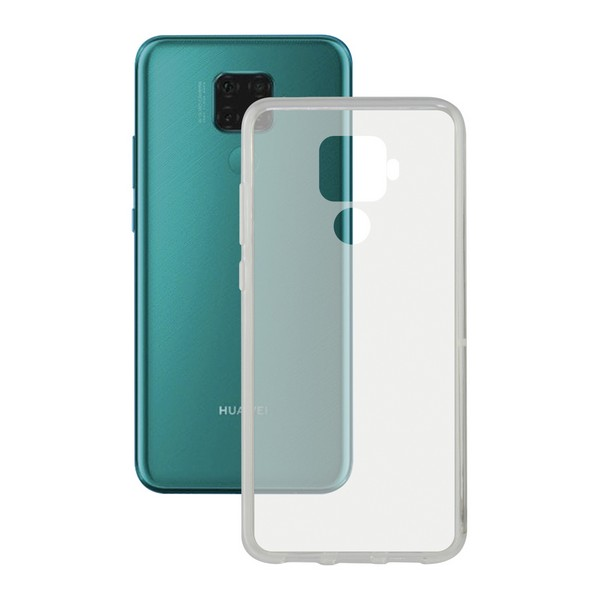 Mobil kapak Huawei Mate 30 KSIX esnek şeffaf