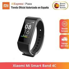 Xiaomi – bracelet connecté Band 4C, version globale, moniteur d'activité physique, écran tactile couleur, Bluetooth 5.0, chargeur USB