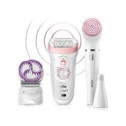 Электрическая машинка для удаления волос Braun 9975 BEAUTY SET перезаряжаемая белая