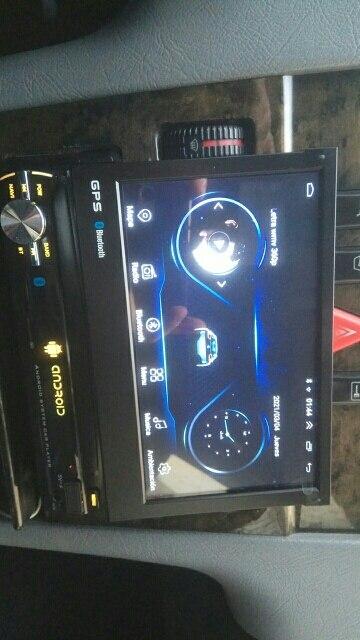 2021 Android 9 GPS Bluetooth + Câmera de visão traseira 1din