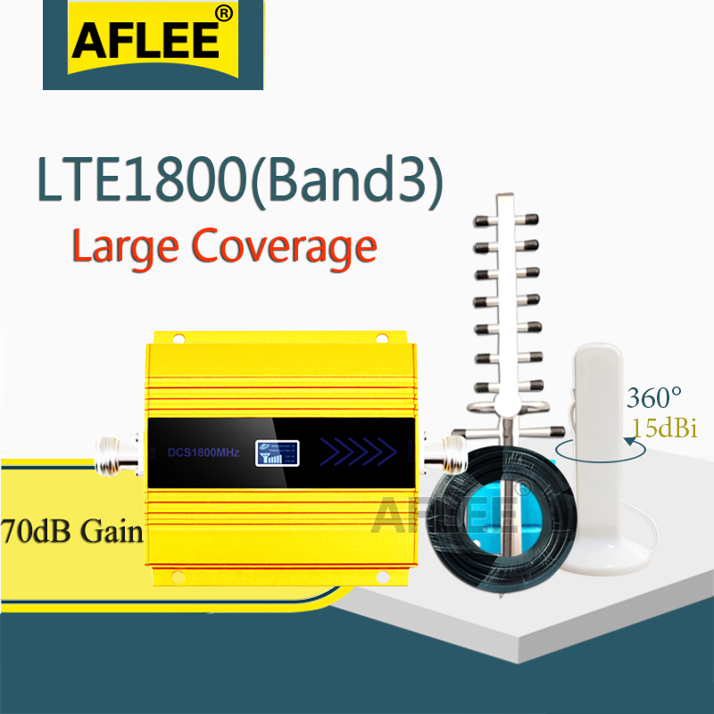 Hot Sale!!4G Network LTE 1800mhz Moblie Signal Booster GSM 1800 2g 4g Signal Repeater DCS LTE 1800 Cell Phone Cellular Amplifier