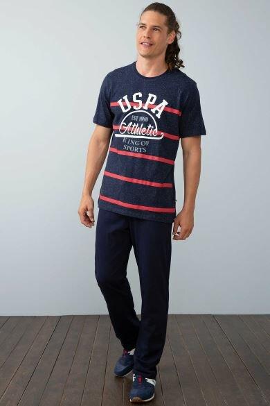U.S. POLO ASSN. Navy Blue Pajamas Set