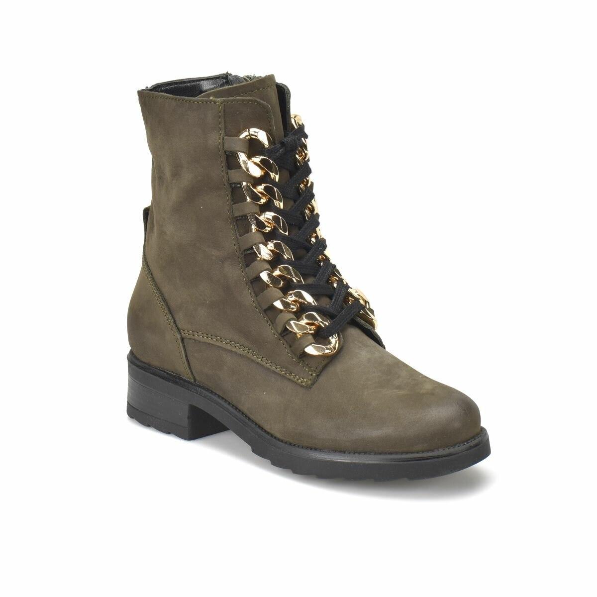 FLO R15240-BR733FLO Khaki Women 'S Shoes BUTIGO