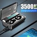 NEW TWS Bluetooth 5.0 Earphone Stereo Wireless Headphones Sports Waterproof Headsets With Smart Digital Display Mic Wholesale