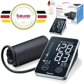 Beurer Blood Pressure Monitor BM 58 Medical Device Upper Arm Brand New in The ORIGINAL BOX brand new in original box philips gc5033 80 azur elite steam iron with optimaltemp technology original brand new