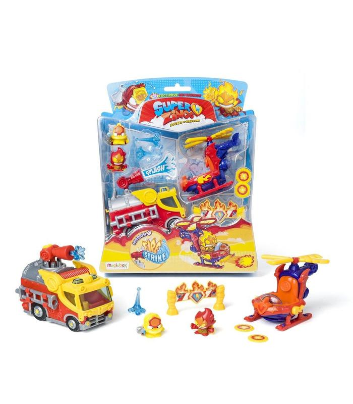 Superzings S Blister3 Mission5 Fire Surt Toy Store