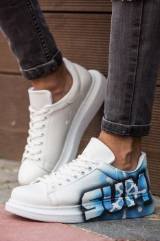 Chekich CH254 IT Men S Shoes 444 WHITE/BLUE SUMMER