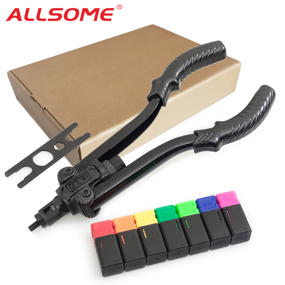 Big Sale▒ALLSOME Gun Rivet-Nut-Tool Manual Blind 619