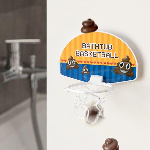Bath Basketball Hoop Poo 6 Pieces