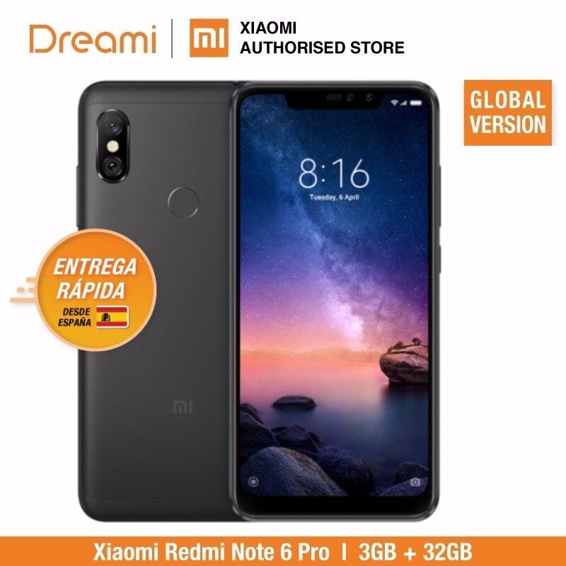 Global Version Xiaomi Redmi Note 6 Pro 32GB ROM 3GB RAM (Brand New And Sealed) Redmi Note6 Pro