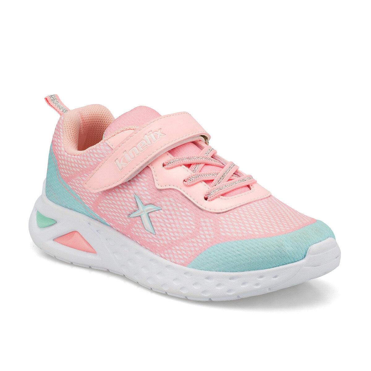 FLO RAIN Light Pink Female Child Sneaker Shoes KINETIX