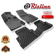 Honda CR-V 3D резиновые автомобильные коврики автомобиля изготовленный на заказ Автоматический подушечки автомобильный коврик с резиновой неск...