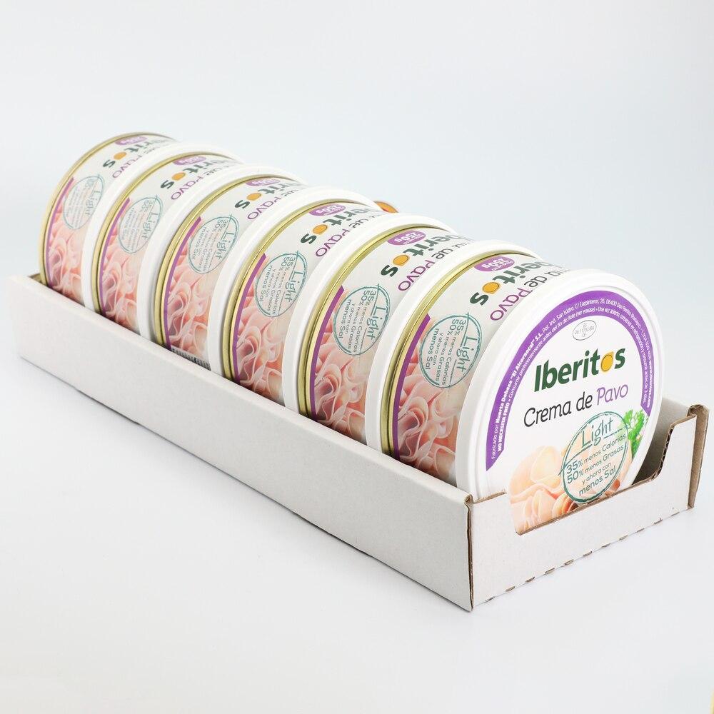 IBERITOS-поднос 6 Крем для супа s индюк светильник 250g-суп крем индюк светильник спреды