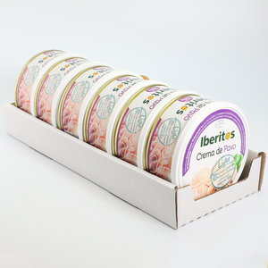 IBERITOS-tray 6 soup cream s Turkey Light 250G-soup cream Turkey LIGHT spreads