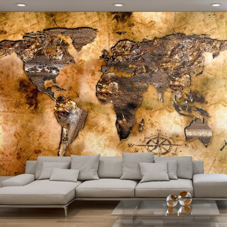 Photo Wallpaper-Continents Iridescent