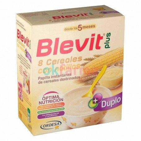 Blevit Plus 8 Cereals With Custard 600 GR
