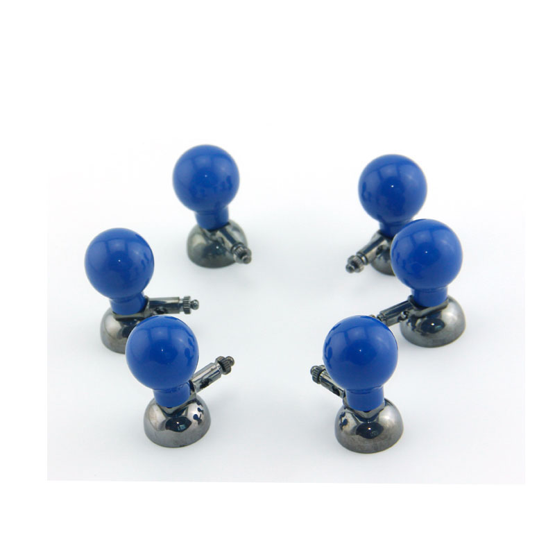 Multifonctionnel adulte ecg/ekg electrodos Ag/AgCl 6 pièces/lot