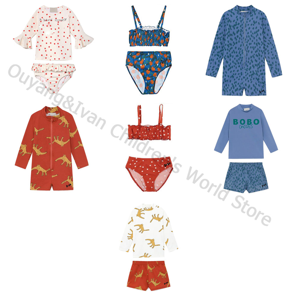 Pre-sale 2020BC spring and summer Children's swimwear set for boys and girls kid beach swimsuit set