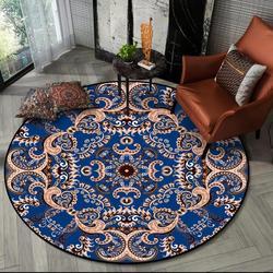 Classique Mandala imprimé tapis pour salon moderne bohême chambre décor petits tapis prière tapis de sol doux antidérapant tapisserie