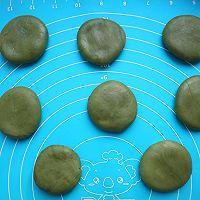 抹茶红豆巧克力麻薯的做法图解12