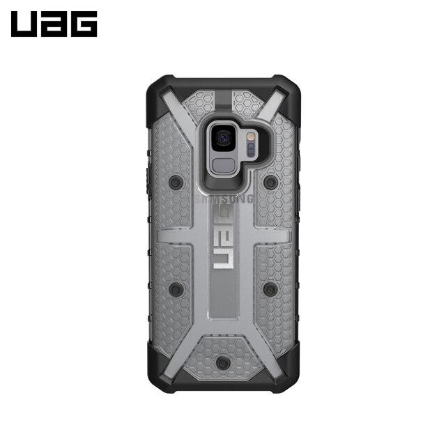 Защитный чехол UAG Plasma Samsung Galaxy S9 Plus цвет серый/GLXS9PLS-L-IC/32