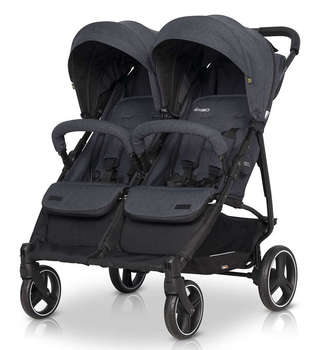 TWIN STROLLER MOD. DOMINO. Very light and comfortable. Includes accessories. For twins, twins or siblings who take little cocteau twins cocteau twins heaven or las vegas