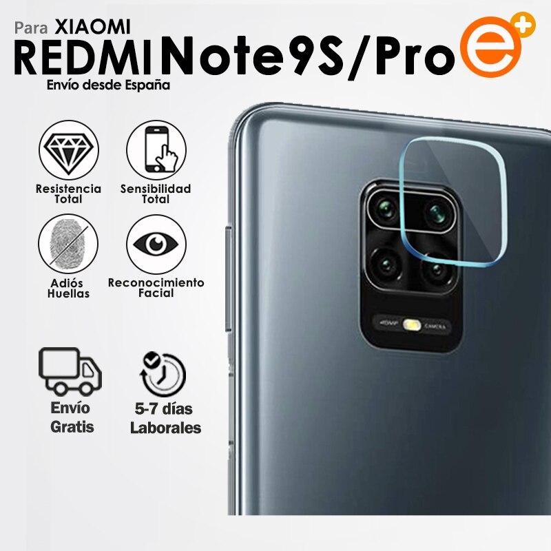 Защита объектива камеры для Xiaomi Redmi Note 9s 9 Pro защита мобильного телефона из закаленного стекла