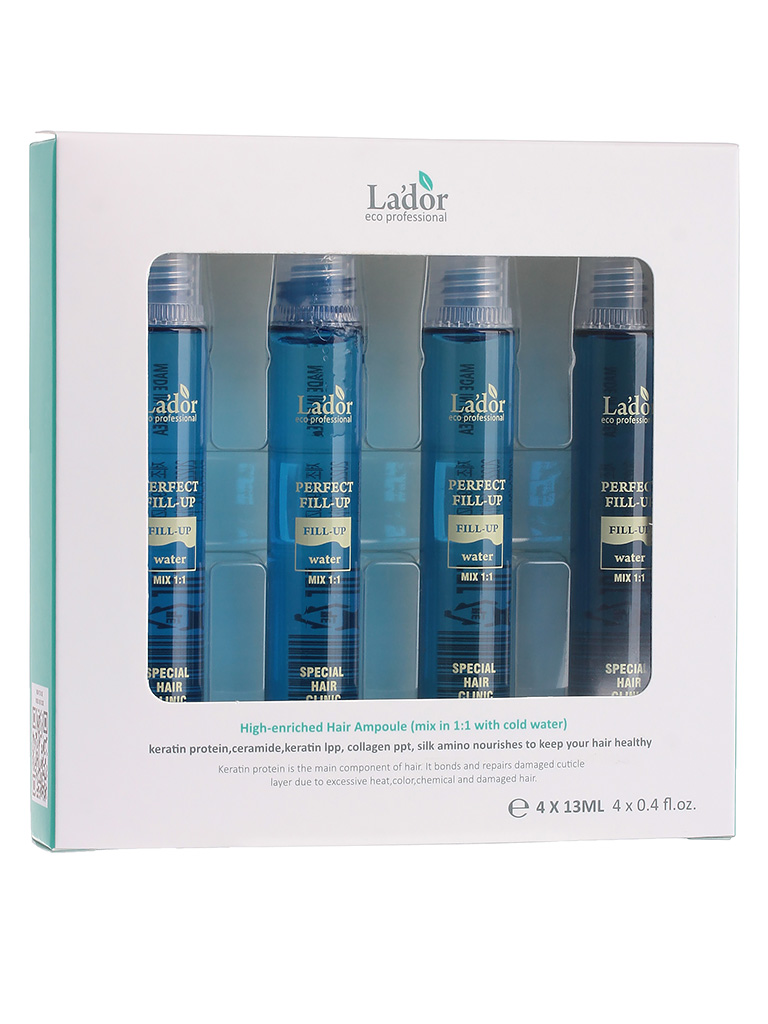 LADOR PERFECT HAIR FILL-UP 13ML X 4EA Korean Cosmetic