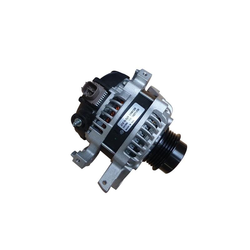 цена For Alternator Toyota (100A; pulley d-62.5 mm. 4 рёб. 14 V/12 V) DAN1309 онлайн в 2017 году