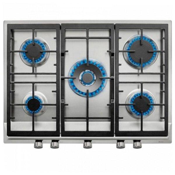 Gas Hob Teka EX70.1 5G 70 Cm 70 Cm Stainless Steel Black (5 Stoves)
