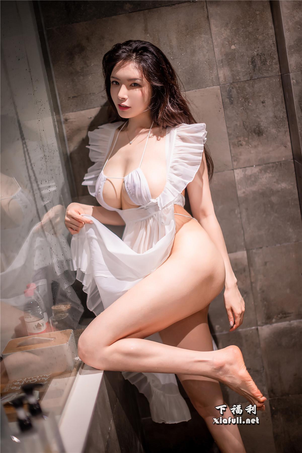秋和柯基 透明围裙2-湿漉漉的浴室[59P 1.41G]插图