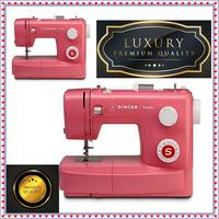 SINGER 3223R Sewing Machine Simple Semiautomatic 23 sewing programs Pink decorative stitch