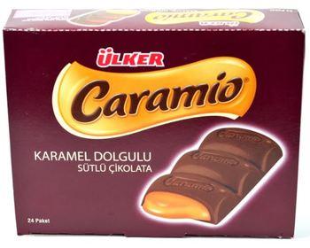 Ülker czekolada caramio 35 gr zestaw 24 Ülker czekolada caramio 35 gr tanie i dobre opinie Mężczyzna 12 + y DE (pochodzenie)