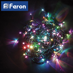LED garland for Christmas tree Feron CL91 7 branches 230V C mains power supply