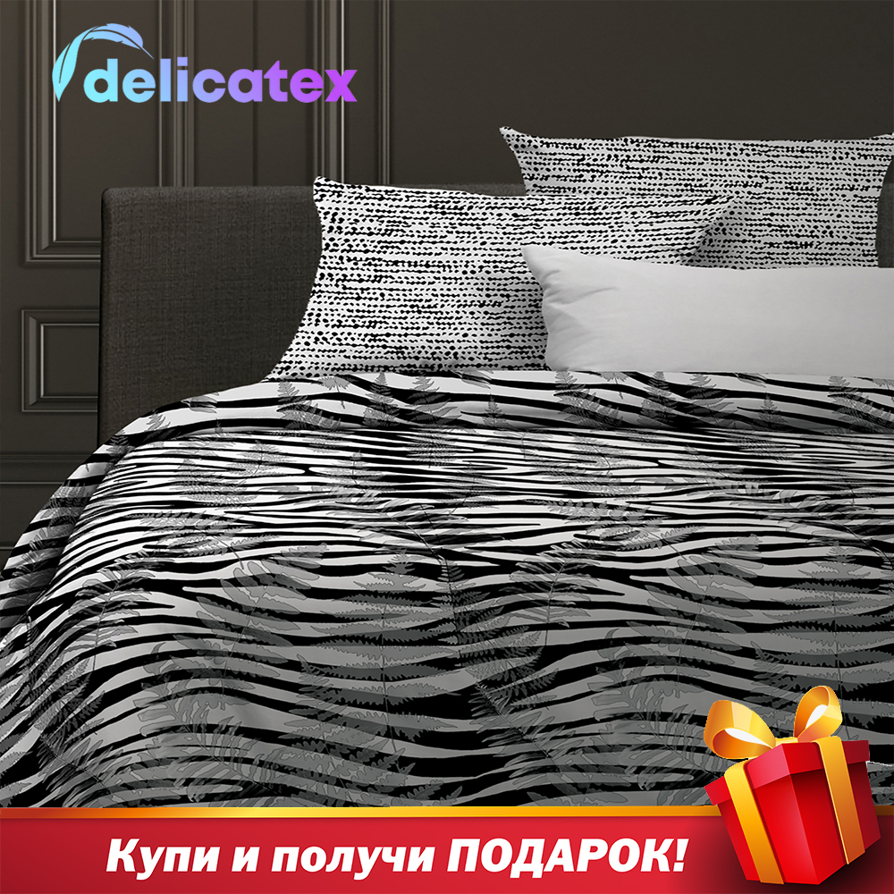 Bedding Set Delicatex 6583-1+15845-1Jungle Home Textile Bed Sheets Linen Cushion Covers Duvet Cover Рillowcase