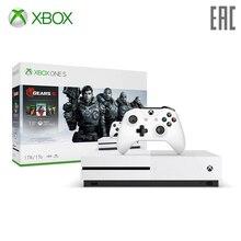 Игровая консоль Xbox One S 1Tb с играми Gears 5+ Ultimate-издание Gears of War+ Gears of War 2, 3 и 4