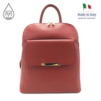 Juice brand, genuine leather backpack Made in Italy, women backpack, 112073