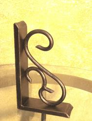 Creative supports desktop Bookends Books metal book support household decors Office School iron forging shape