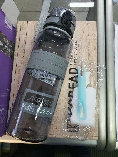 Water Bottle 500/1000ml BPA Free Popular Gray Men Outdoor Sport Travel shaker Drink My Bottle Leakproof Plastic Fruit Tea Bottle|Water Bottles| |  - AliExpress